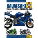 Haynes bog KAWASAKI ZX-6R ZX636 03-06