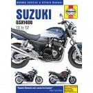 Haynes bog SUZUKI GSX1400 02-08