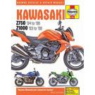 Haynes bog KAWASAKI Z750 Z1000 03-08