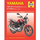 Haynes bog YAMAHA YBR125 XT125 05-13