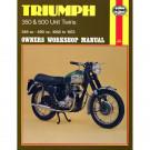 Haynes bog TRIUMPH 350 500 TWIN 58-73