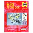 BRUGT Haynes motorcycle basic techbook