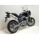 LeoVince Oval Slip-on Potte  EC-approved Alu Honda CB 600 F Hornet 03-06