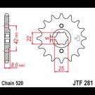 JT Fortandhjul 15 Tands - JTF281.15 MVX250 XL600R