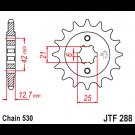 JT Fortandhjul - JTF288.18 CB750 K 71-76