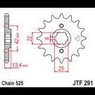JT Fortandhjul  15 Tands - JTF291.16 CB350/450 CMX450