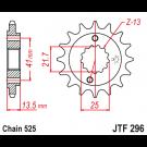 Fortandhjul 296/15T XL600/650 XL700 Transalp