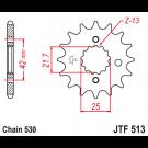 JT Fortandhjul - JTF513.16 Kawaki Suzuki Yamaha