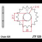 JT Fortandhjul 17 tands - JTF520.17  GSR/GSX/GSXR/DL