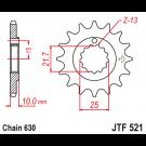 JT Fortandhjul - JTF521.15 Z900A Z1000