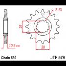JT Fortandhjul - JTF579.17 FJ1100 FZ1 MT-01 XJR R1