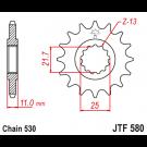 JT Fortandhjul 16 tands - JTF580.16 Yamaha FZ6 R6 FZ750 FZR1000