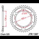 JT Bagkædehjul - JTR1307.45 Honda CBR600