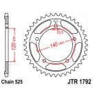 JT Bagkædehjul 1792/ vælg antal tænder