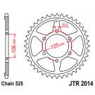JT Bagkædehjul 2014/ vælg antal tænder 675 Daytona/Street Triple 06-10