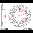JT Bagkædehjul JTR245/3 vælg antal tænder