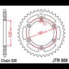 JT Bagkædehjul 44 Tands  - JTR808.44 DR-Z400 00-18 DR350SE 94-99