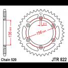 JT Bagkædehjul - JTR822.45 STEEL