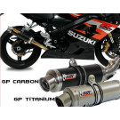MIVV BOLT-ON GP TITANIUM SUZUKI - GSX 600/750 R 04-05