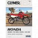 Clymer  Honda XR600R and XR650L 1991-2007