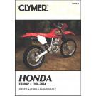 Clymer HONDA XR400R XL400 96-04