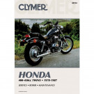 Clymer Honda CB/CM/CMX400-450 Twin 78-87