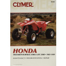 Clymer HONDA TRX 250R/FOURTRAX 250/ACT 250 1985-1989
