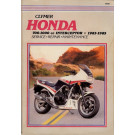 Clymer HONDA VF750 VF1000 INTERCEPTOR 83-85