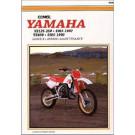 Clymer YAMAHA YZ125 YZ250 1985-1987 / YZ490 1985-1990