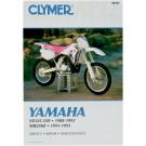 Clymer YAMAHA YZ125 YZ250 WR250Z 88-93