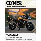 Clymer YAMAHA FZS1000 (FZ1) FAZER 2001-2005