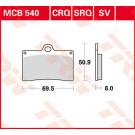 Lucas TRW bremseklodser MCB540 Aprilia/ATK/BETA/BIMOTA/CAGIVA/DUCATI/GAS GAS/HONDA/HUSQVARNA/INDIAN/KTM/LAVERDA/MOTO-GUZZI/MZ/PGO/PRAGA/SACHS/TM/VOR/YAMAHA