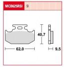 TRW LUCAS MCB625SI bremsklodser Sinter Cross bag Suzuki RM/DR/RMX/DR-Z Yamaha YZ/DT/TT/TT-R/WR Sachs XTC/ZZ