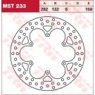 TRW Lucas MST233 bremseskive Virago
