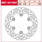 LUCAS TRW MST247RAC (ALIEN/WAVE) bremseskive BAG! Ducati, Laverda, Voxan, Yamaha