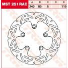 TRW Lucas MST251RAC (ALIEN/WAVE) BREMSESKIVE BAG SUZUKI