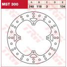 TRW Lucas MST300 Bremseskive Honda CR/CRE/CRF/CRM/SL/XL/XLR/XR