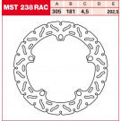 TRW Lucas Bremseskive MST238RAC (ALIEN/WAVE) BMW