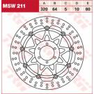 TRW Lucas MSW211  bremseskive APRILIA,DUCATI,YAMAHA