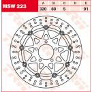 TRW LUCAS MSW223  bremseskive Suzuki