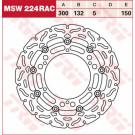 TRW LUCAS MSW224RAC (WAVE) bremseskive  Yamaha