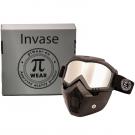 PiWear MC Motorbrille / Maske INVASE Spejlrefleks