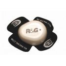 R&G Aero Knee Slider hvid (bemærk kun 1 stk)