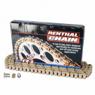 Renthal r1 428-130l guld kæde