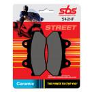 Bremseklodser SBS542HF STREET MC KLODSER CERAMIC