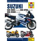 Haynes suzuki GSXR 600/750/1000 00-03