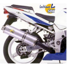 LeoVince Oval Slip-on Potter  EC-approved ALU. GSX-R 600 '01-03