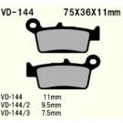 Vesrah  VD-144 kv Cross bag Honda,Suzuki, Kawa, Yam, GasGas, Sherco, TM, Bimota mfl.