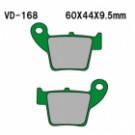 VESRAH Bremsesklodser  VD-168KV Honda CR CRF BAG