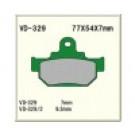 Vesrah VD-329/2KV bremseklodser Suzuki DR600 SP600